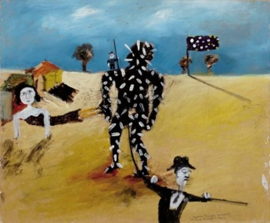 sidney-nolan2c-tarred-and-feathered2c-1945-web