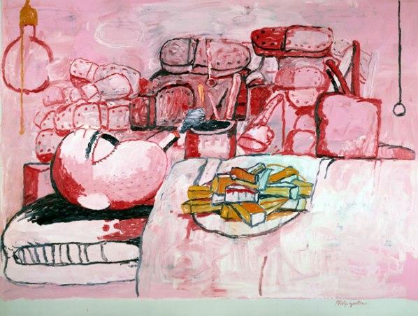 40_Schirn_Presse_Guston_Painting_Smoking_Eating_1973