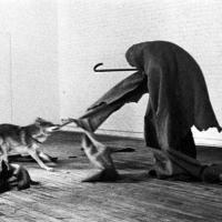 Great Art: Joseph Beuys' 1974's I Like America and America Likes Me performance